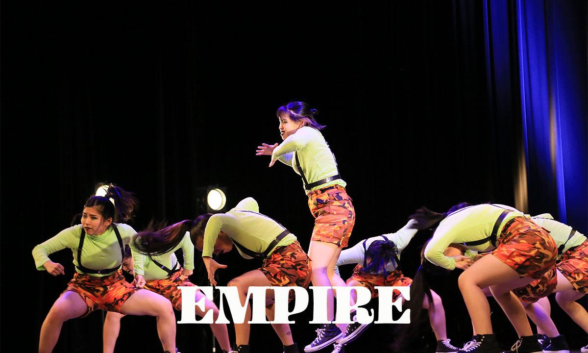 【 EMPIRE 】ダンスのチーム!ネバーギブアップダンスコンテスト出場チーム紹介。